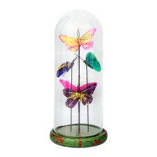 Bella Renkli Kelebekler Dekoratif Obje Büyük Boy