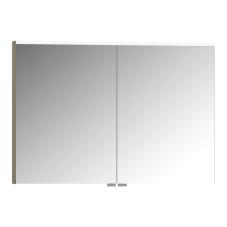 Premium Dolaplı Ayna 100 cm Metalik Vizon