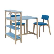 Omero Mavi Masa Sandalye Seti