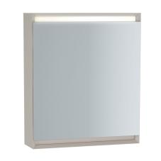Frame Dolaplı Ayna 60 cm Mat Soft Beyaz Sol