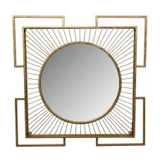 Hira Gold Duvar Aynası