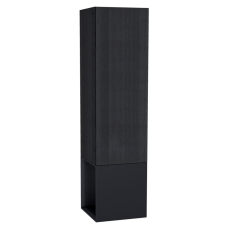 Frame Boy Dolabı 40 cm Açık Üniteli Mat Siyah Sağ