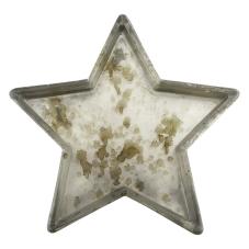 Kanta Antik Dekoratif Yıldız Mumluk