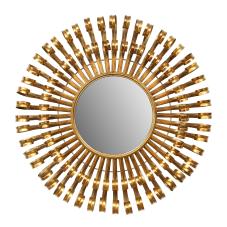 Bronz Güneş Duvar Aynası