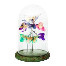 Diya Renkli Kelebekler Dekoratif Obje Küçük Boy