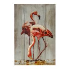 Lux Flamingo Dekoratif Tablo