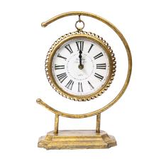 Lux Gold Sarkıtlı Masa Saati