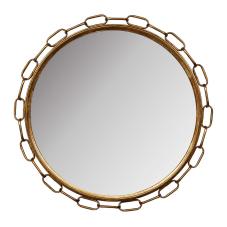 Gold Zincirli Duvar Aynası