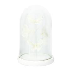 Diya Beyaz Kelebekler Dekoratif Obje Küçük Boy