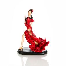 Bella Flamengo Dansçı Kadın Biblo