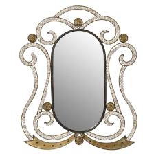 Saga Gold Ferforje Duvar Aynası