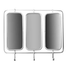 Üçlü Askılı Duvar Aynası