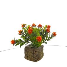 Bonzai Kırmızı Yapay Çiçek