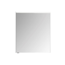 Premium Dolaplı Ayna 60 cm Parlak Beyaz Sağ