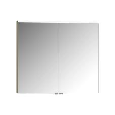 Premium Dolaplı Ayna 80 cm Metalik Vizon