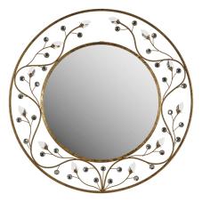 Saga Kristal Taşlı Duvar Aynası