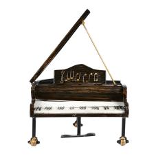 Lux Metal Dekoratif Piyano Küçük Boy