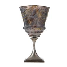 Mihir Zincirli Dekoratif Ayaklı Vazo Büyük Boy