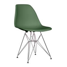 Shift Yeşil Metal Ayaklı Sandalye