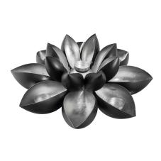 Milk Metal Dekoratif Çiçek Mumluk