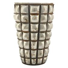 Kanta Antik Metal Dekoratif Vazo Büyük Boy