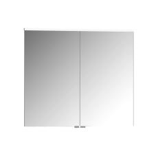 Premium Dolaplı Ayna 80 cm Parlak Beyaz