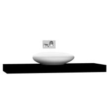 Options Lux Tezgah 140 cm Parlak Siyah