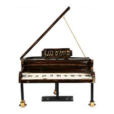Lux Metan Dekoratif Piyano Büyük Boy