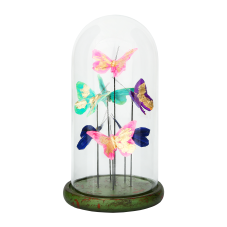Diya Renkli Kelebekler Dekoratif Obje Büyük Boy