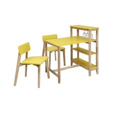 Omero Sarı Masa Sandalye Seti