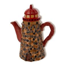 Deniz Feneri Dekoratif Çaydanlık