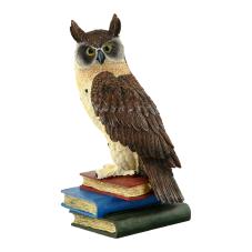 Pretty Kitap Üstünde Baykuş Biblo