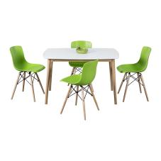 Maya Yeşil Masa Sandalye Seti