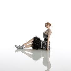 Bella Uzanmış Elbiseli Kadın Biblo