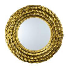 Lux Leaf Gold Duvar Aynası