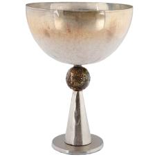 Pari Metal Ayaklı Sedef Vazo