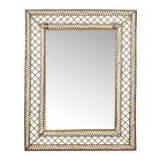 Gold Telkari Duvar Aynası