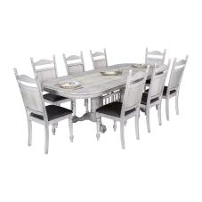 King Beyaz Masa Sandalye Seti