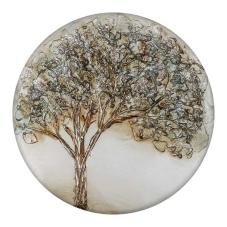 Doru Ağaç Model Yuvarlak Dekoratif Tablo