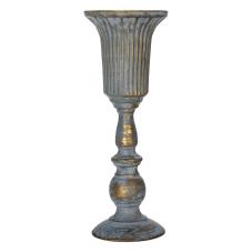 Sahara Bronz Metal Dekoratif Vazo Büyük Boy
