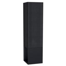 Frame Boy Dolabı 40 cm Açık Üniteli Mat Siyah Sol