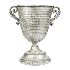 Marial Gümüş Metal Vazo