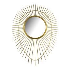 Gold Çubuklu Duvar Aynası