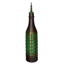 Lord Yeşil Seramik Dekoratif Şişe