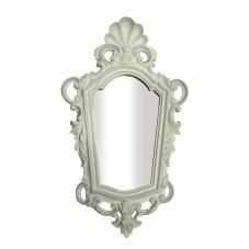 Varaklı Beyaz Ayna Büyük Boy