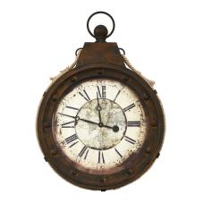 Vintage Halatlı Duvar Saati