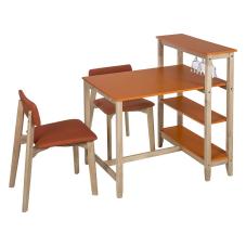 Omero Turuncu Masa Sandalye Seti