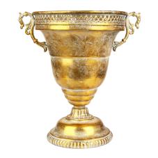 Marial Gold Metal Kupa Vazo