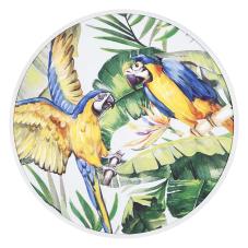 Pera Dalda Papağanlar Dekoratif Tablo