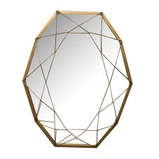 Raw Gold Duvar Aynası